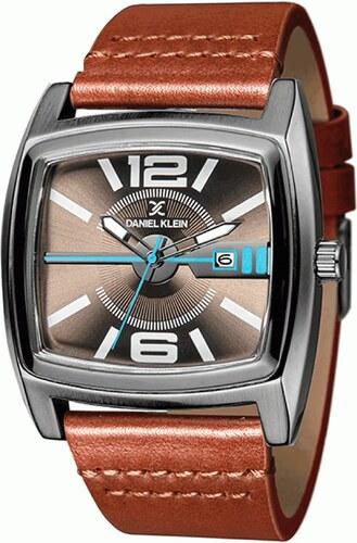 Ρολόι Daniel Klein Premium ημερομηνίας με καφέ λουράκι DK11294-5 ... 151aabf2aa5
