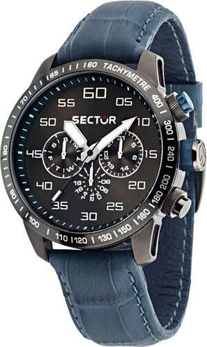Ρολόι Sector 850 Racing πολλαπλών ενδείξεων με μπλε λουράκι R3251575007 196cab680a8