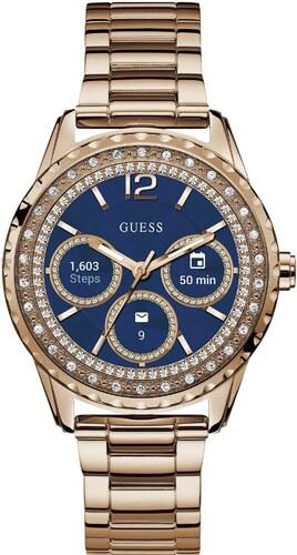 Ρολόι Guess Connect smartwatch με ροζ χρυσό μπρασελέ C1003L4 - Glami.gr 7d3002ec32f
