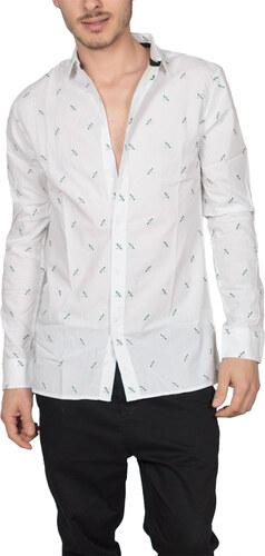 Anerkjendt πουκάμισο Louis λευκό με κεντημένα κουνούπια - Glami.gr 4935ce0bb75