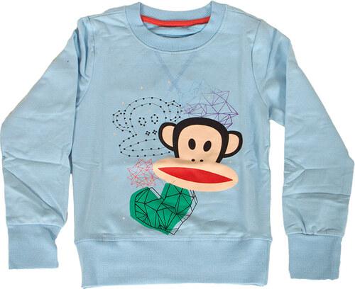 Paul Frank παιδική φούτερ μπλούζα γαλάζια - Glami.gr 0652ae19839
