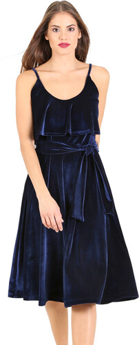 2c34791f2c03 e-xclusive Βελούδινο κλος μίντι φόρεμα - Glami.gr