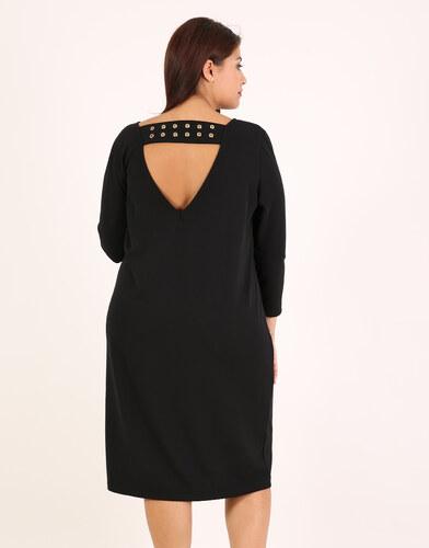 1d92679fd20 e-xclusive Φόρεμα με V ντεκολτέ και τρουκ - Glami.gr