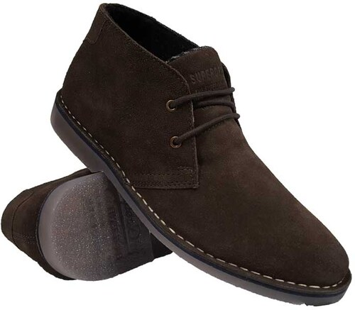 19c64a02384 Superdry - MF2009AP CSC - Dark Browns Suede - Winter Rallie Boot - Παπούτσι  Ανδρικό