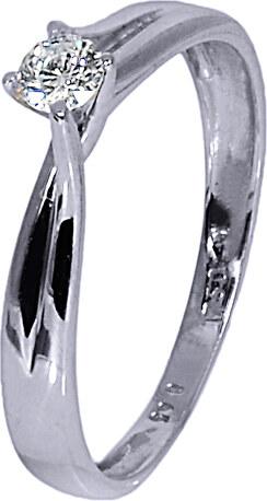 Λευκόχρυσο Μονόπετρο Δαχτυλίδι 18Κ με Διαμάντι 007358 007358 Χρυσός 18  Καράτια 477df53bfa8