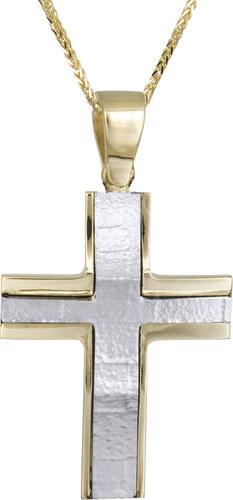 009ed452203 Βαπτιστικοί Σταυροί με Αλυσίδα Σταυρός για αγόρι με καδένα C021456 ...