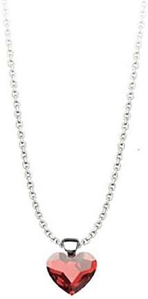 Paraxenies Κολιέ συλλογή Love καρδιά από ασήμι με πέτρα Swarovski ... 4b6f2ad389d