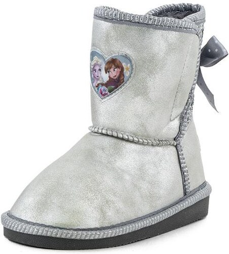 Παιδικά Μποτάκια Frozen (42017507 30-34 Silver) - Glami.gr f0c9583bc63