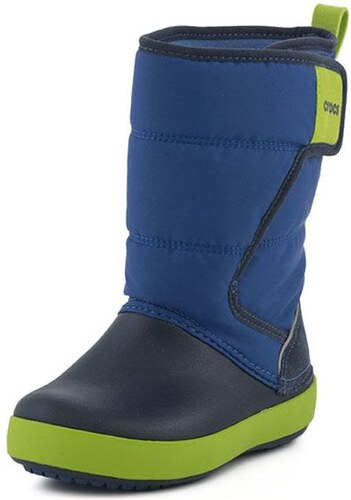 377d07681e3 Lodge Point Snow Boot K Crocs (204660 Blue J4HD) - Glami.gr