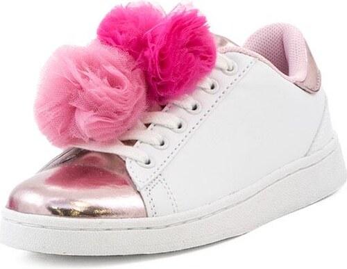 f49b84479de Παιδικά Sneakers Lelli Kelly (LK5826 White) - Glami.gr