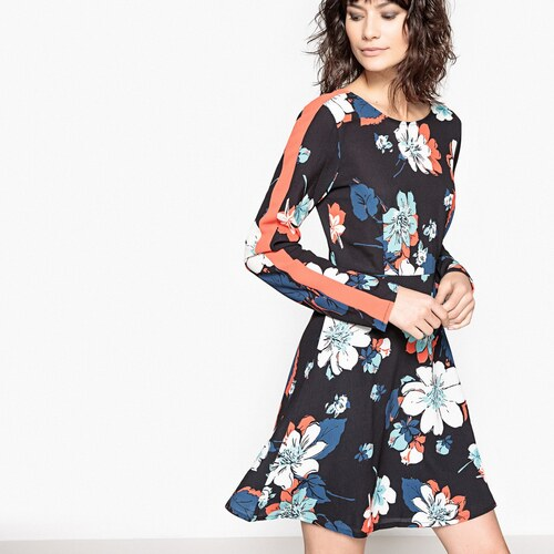 2240d424d32c LA REDOUTE COLLECTIONS Κοντό φλοράλ φόρεμα - Glami.gr