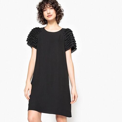 345c648491c9 MADEMOISELLE R Φόρεμα με βολάν στα μανίκια - Glami.gr