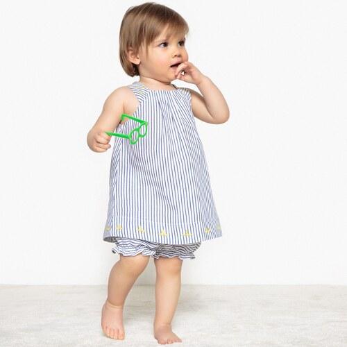 c92b7a71d44 LA REDOUTE COLLECTIONS Σύνολο φορεματάκι και φουφούλα, 1 μηνός-3 ετών