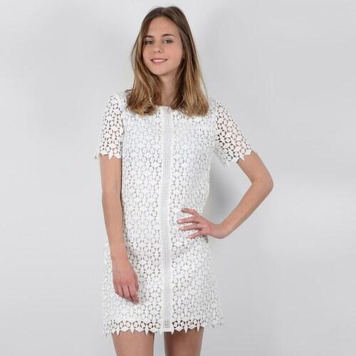 372777b4025a MOLLY BRACKEN Κοντό μονόχρωμο φόρεμα από δαντέλα - Glami.gr