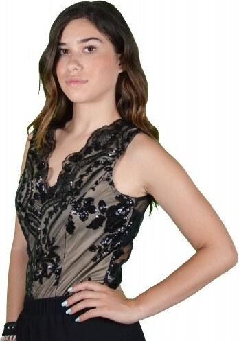 3986043dd20 Γυναικεία Μπλούζα Κορμάκι Μαύρο - Glami.gr