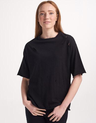 9c4161f821d0 Issue Fashion T-Shirt με σκισίματα - Glami.gr