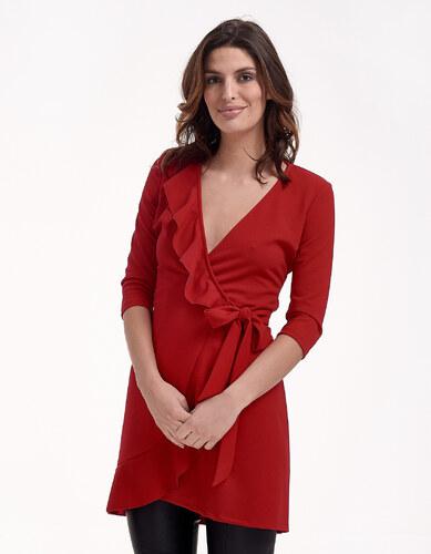 ac60fa472814 Issue Fashion Κρουαζέ φόρεμα με βολάν - Glami.gr