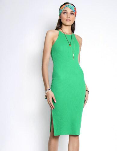 fd8191109630 Issue Fashion Midi φόρεμα με σκίσιμο στο πλάι - Glami.gr