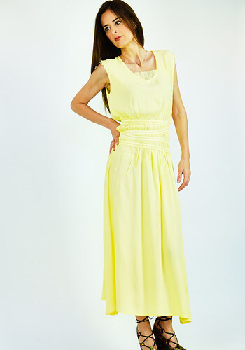 2a52a86afd0d Cuca Φόρεμα Μακρύ Σε Αρχαιοελληνικό Style - Glami.gr