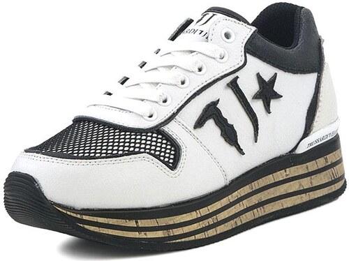 Γυναικεία Sneakers Trussardi Jeans (79A00149 White) - Glami.gr 17838b35858