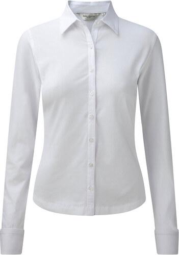 eb3a6ac41b90 Γυναικείο πουκάμισο Stretch Russell R-993F-0 - White - Glami.gr