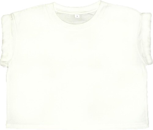 baefe2fa587f Womens Organic Crop Top T Mantis M96 - White - Glami.gr