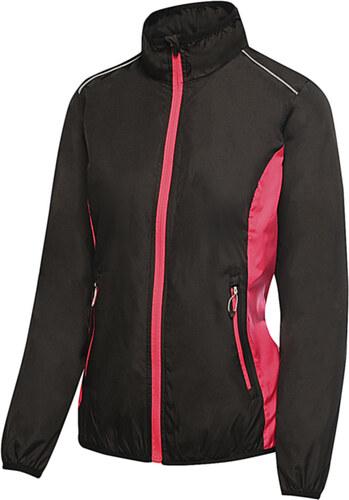 Γυναικειο Jacket Athens Tracksuit Regatta TRA413 - Black Hot Pink ... c5d28ccb49c