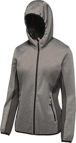 Γυναικειο Μπουφαν Softshell Hooded Amsterdam Regatta TRA615 - Seal Grey e93830fee3e