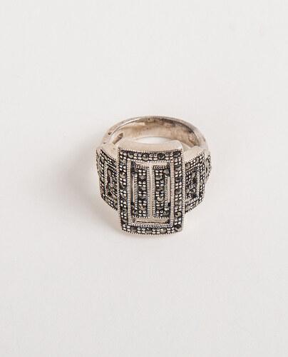 OEM Δαχτυλίδι ασημένιο επιπλατινωμένο με ζιργκονάκια - Glami.gr 2e23e1924c9
