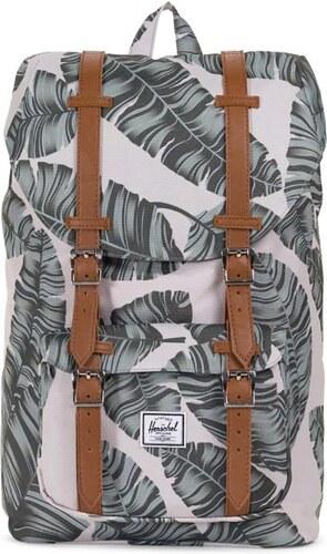 93b143db12 Herschel Supply Co. Little America mid volume backpack silver birch palm tan