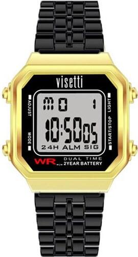 VISETTI Retro-V Series Black Stainless Steel Bracelet RI-007GB ... 2272cd278f0