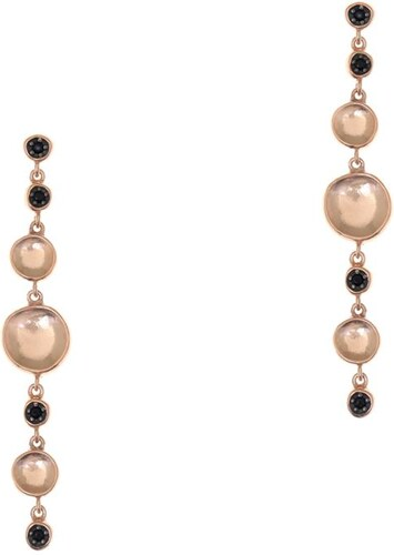 Σκουλαρίκια GREGIO Από Ασήμι 925 Ροζ Επιχρυσωμένο GR49161 - Glami.gr 1ef33923ec9