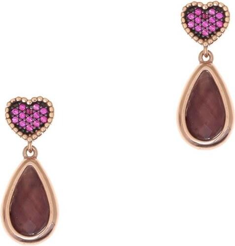 Σκουλαρίκια Gregio Από Ασήμι 925 Ροζ Επιχρυσωμένο GR49128 - Glami.gr aebb72dc5b3