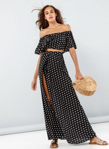 3c71052eff30 The Fashion Project Σετ μπουστάκι με maxi φούστα - Μαύρο - 001 ...