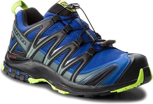 Παπούτσια SALOMON - Xa Pro 3D Gtx GORE-TEX 404721 28 V0 Mazarine Blue  Wil Black Lime Green e0eb083b628