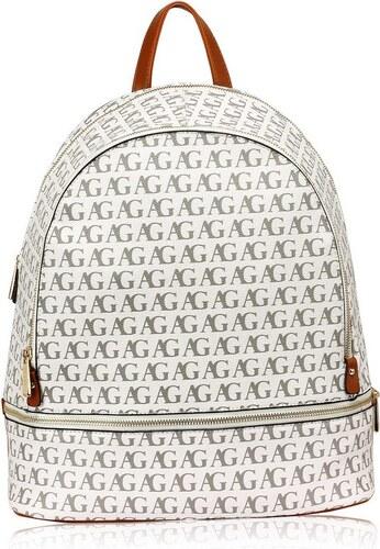 Anna Grace 1453 LS Γυναικεία τσάντα πλάτης - λευκή - Glami.gr aa8fece7b98