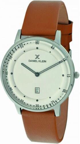 Ρολόι Daniel Klein με ημερομηνία και καφέ λουράκι DK11506-6 - Glami.gr 64d93bf97b1
