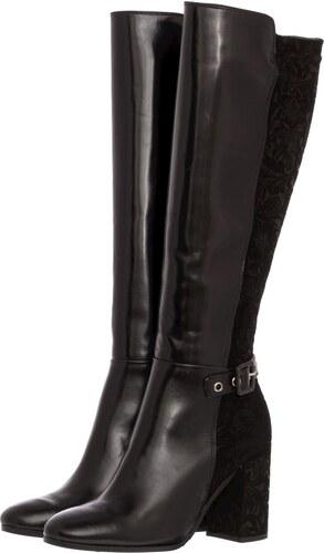 Paola Ferri Γυναικείες Μπότες 4221 Μαύρο Δέρμα - Glami.gr b2ed47fb155