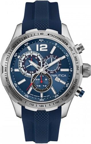 Ρολόι Nautica NST30 χρονογράφος με μπλέ λουράκι NAI15513G - Glami.gr a24b19464c2