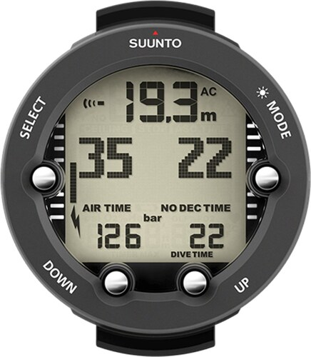 Ρολόι-υπολογιστής κατάδυσης Suunto Vyper Novo με μαύρο λουράκι SS021647000 4d9f3ab154b
