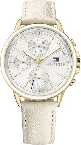 Ρολόι Tommy Hilfiger Carly πολλαπλών ενδείξεων με μπεζ λουράκι 1781789 fbf1c9dd6c1