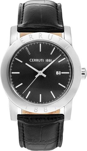 Ρολόι Cerruti Valvori με ημερομηνία και μαύρο λουράκι CRA160SN02BK ... fc53032f01a