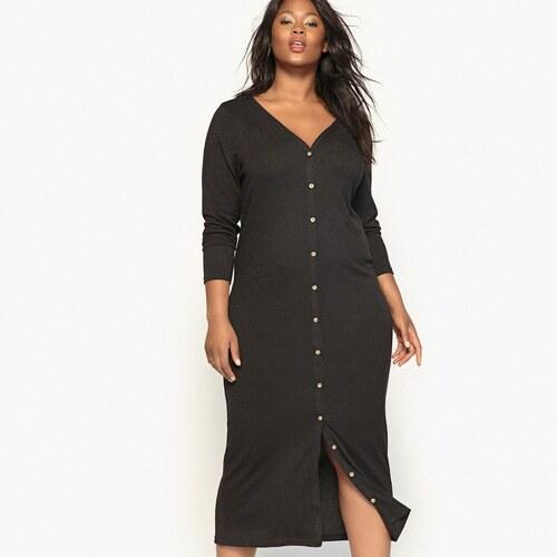 8e2ad3d0004f CASTALUNA Πλεκτό φόρεμα με κουμπιά - Glami.gr