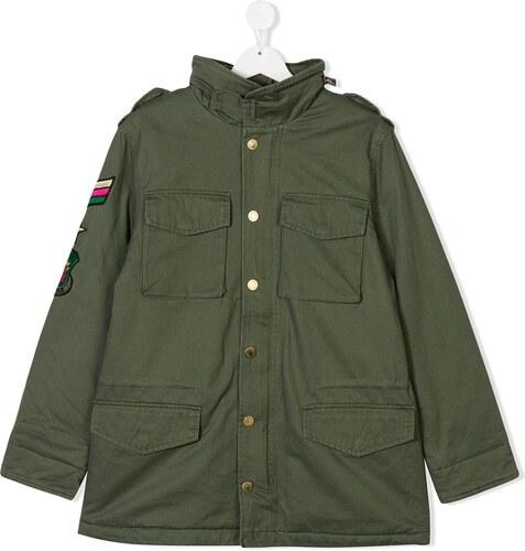 4ec03ba8117 Zadig & Voltaire Kids TEEN military jacket - Green - Glami.gr