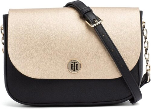 a5dfceec32 TOMMY HILFIGER MY TOMMY CROSSOVER ΤΣΑΝΤΑ ΓΥΝΑΙΚΕΙΑ TOMMY HILFIGER ΜΑΥΡΟ  (AW0AW05637-905)