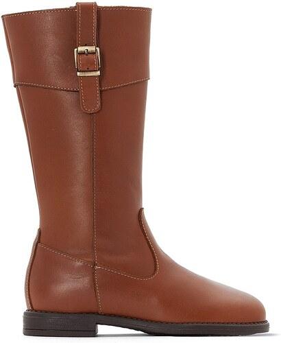 LA REDOUTE COLLECTIONS Δερμάτινες μπότες ιππασίας - Glami.gr 900cef20c5b