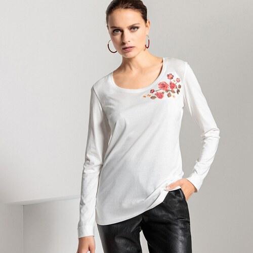 ca56c34a53cc ANNE WEYBURN Μακρυμάνικη μπλούζα με στρογγυλή λαιμόκοψη - Glami.gr