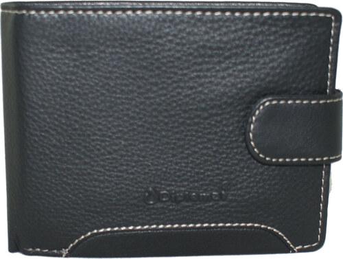 7ac31d6d1f Δερμάτινο πορτοφόλι Diplomat MN302 σε μαύρο χρώμα έως 6 άτοκες δόσεις