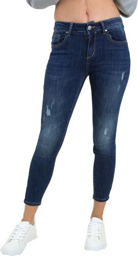 Huxley   Grace Γυναικείο μπλε σκούρο τζιν ψηλόμεσο παντελόνι ITA1163 ... a1fc4331309