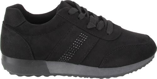 eshoes.gr Αθλητικά Μαύρα Παπούτσια suede - Glami.gr d9db4640cbf